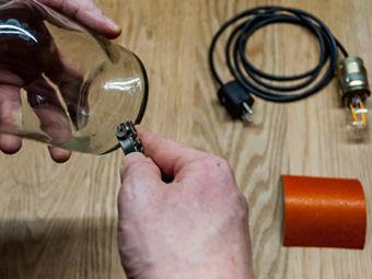 Anleitung Kreative Hängelampen Aus Glasflaschen Ganz Einfach Selber