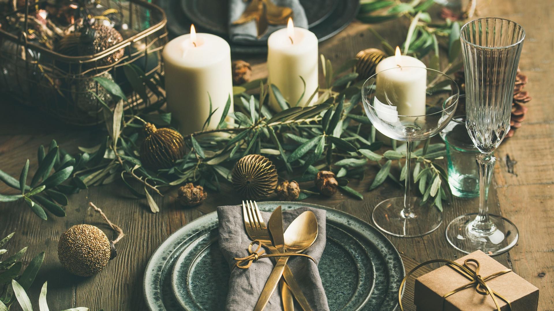 Diy Ideen Zu Weihnachten Tischdeko Fur Festliche Dinnertafeln